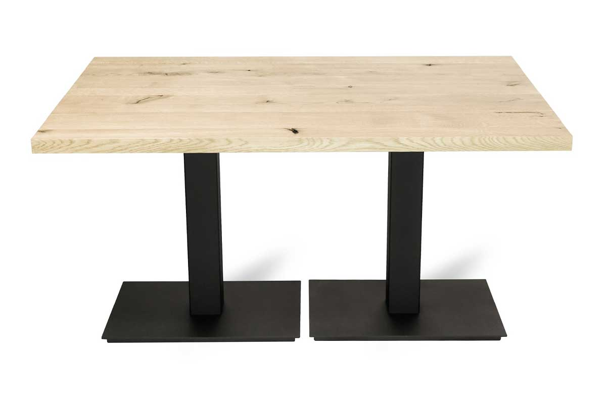 Loft furniture - FLAT DOUBLE restaurant table