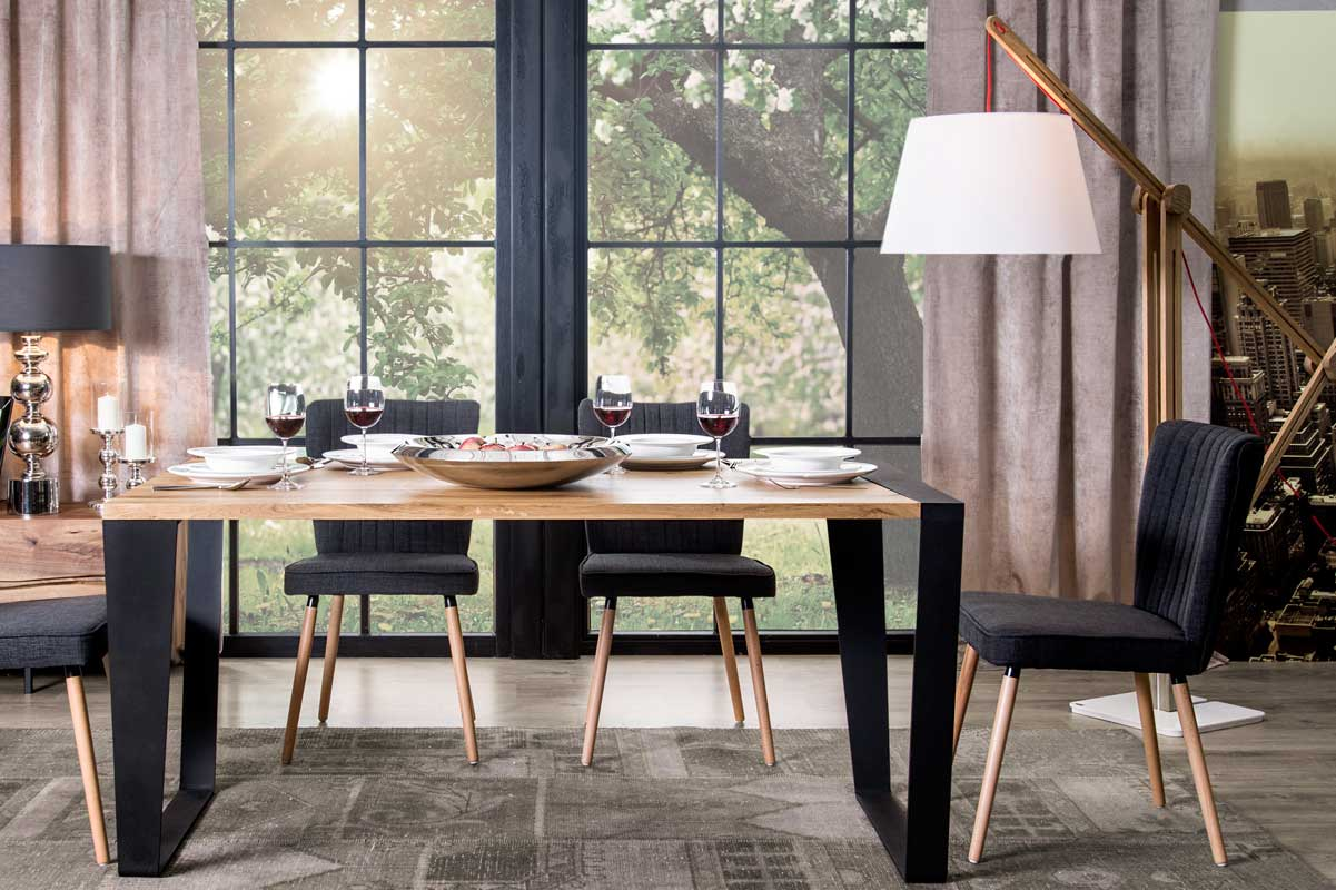 SGW SCHEME / industrial style dining table