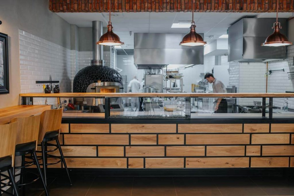 Furniture for restaurants - industrial style