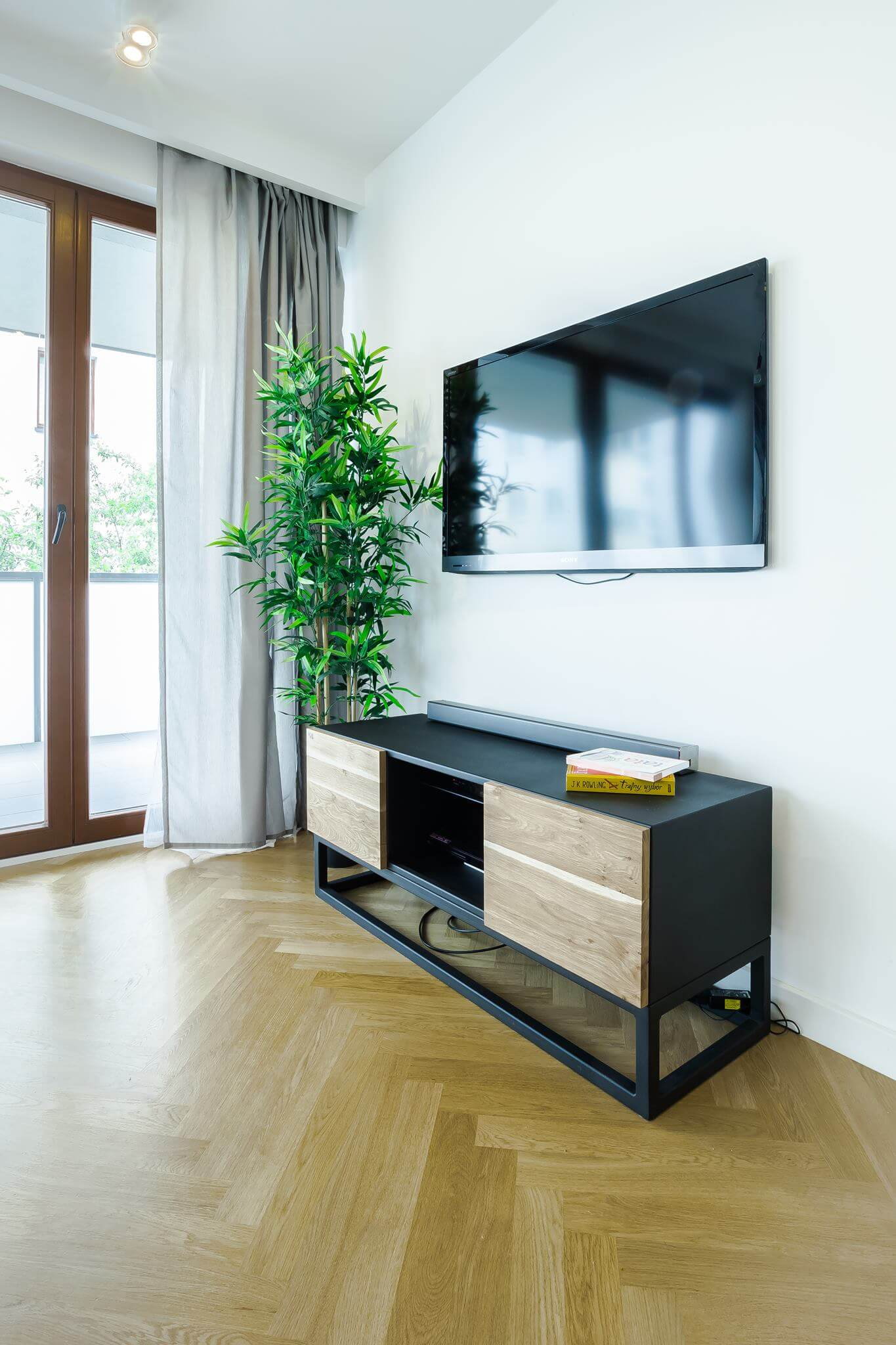 Industrial LTV TV cabinet