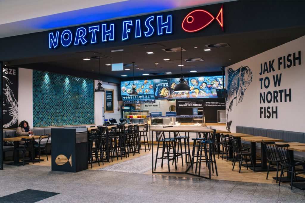 Comprehensive building furniture for the restaurant North Fish