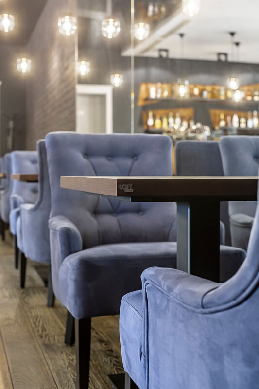 A producer of industrial furniture for restaurants