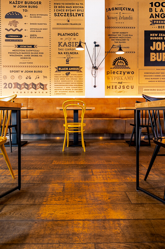 Wooden tables from LOFT Decora