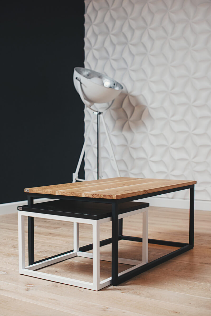 Industrial coffee tables UOMO from LOFT Decora