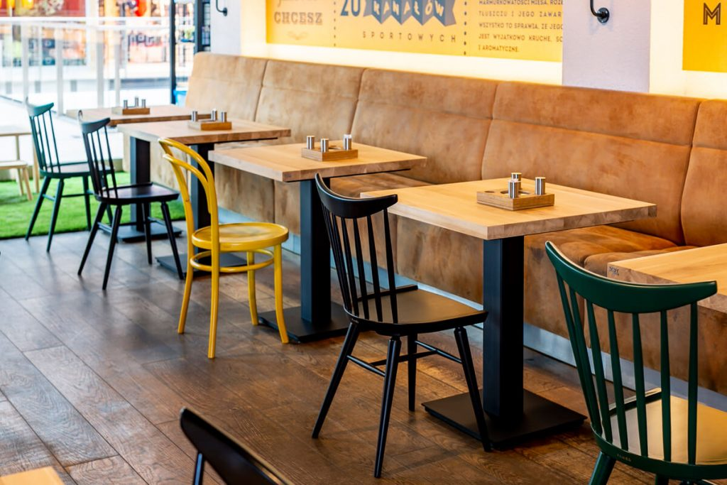Industrial restaurant table FLAT