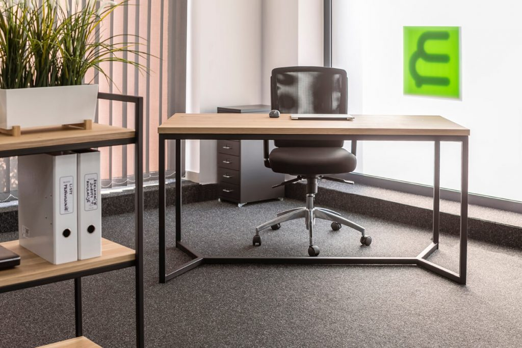 Office furniture in industrial style made by LOFT Decora