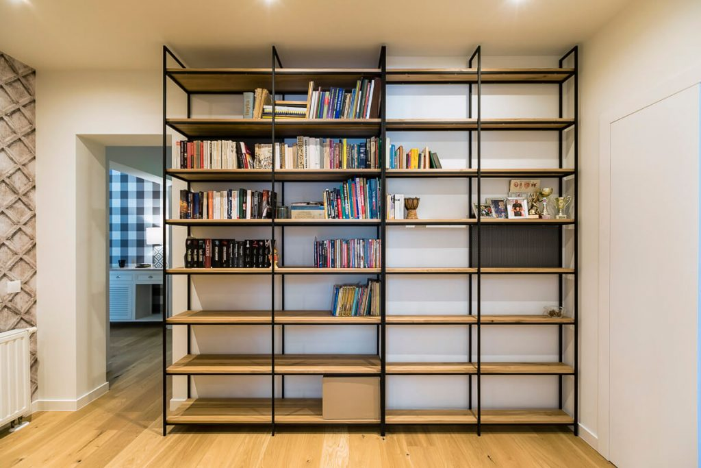 Bookcase in a loft style from LOFT Decora