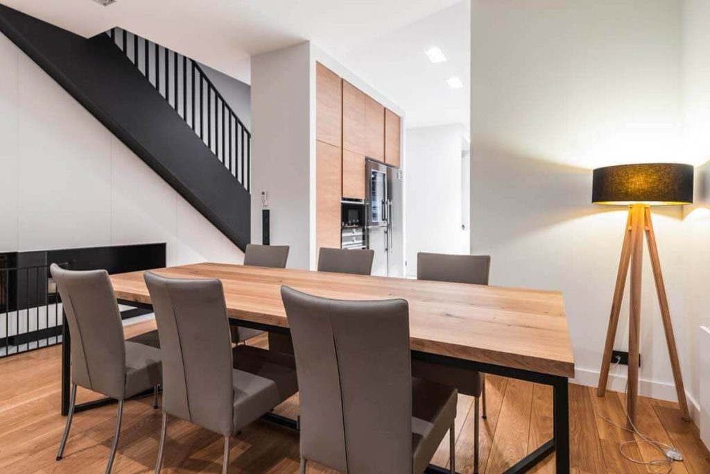 Dining table designed by LOFT Decora