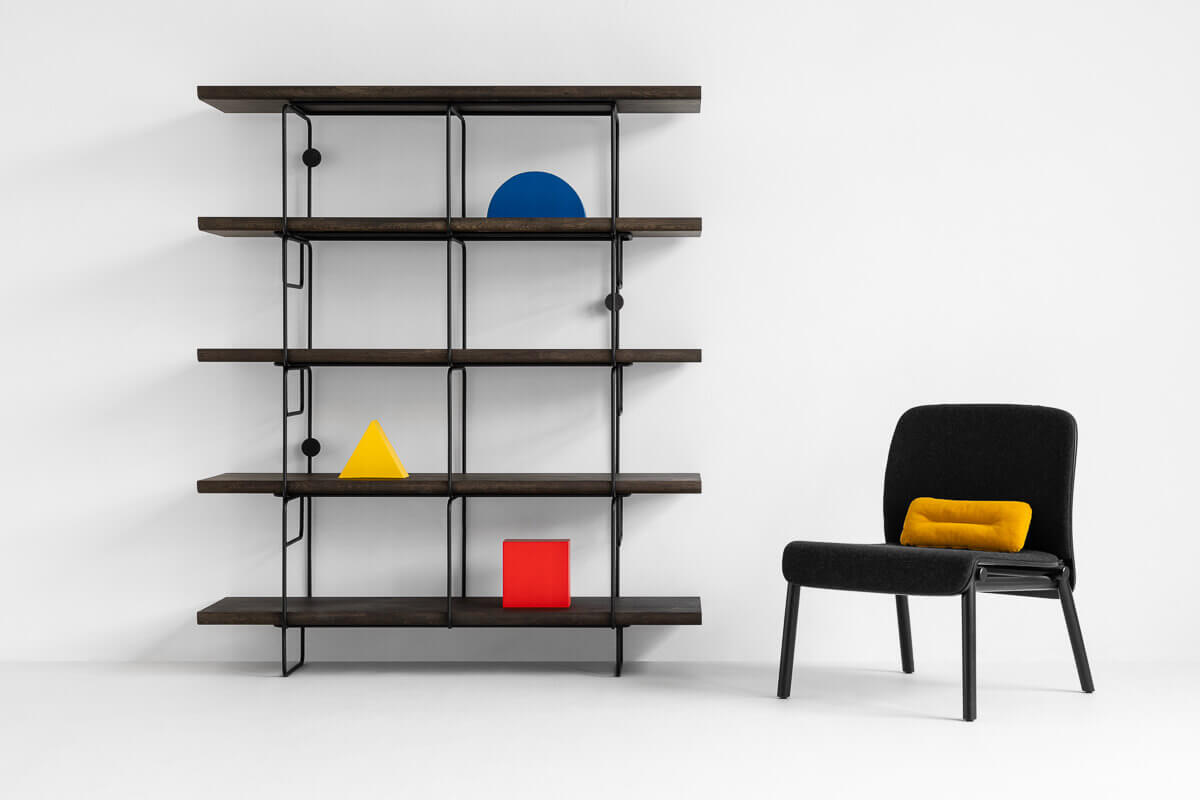 Loft bookshelf by Loft Decora