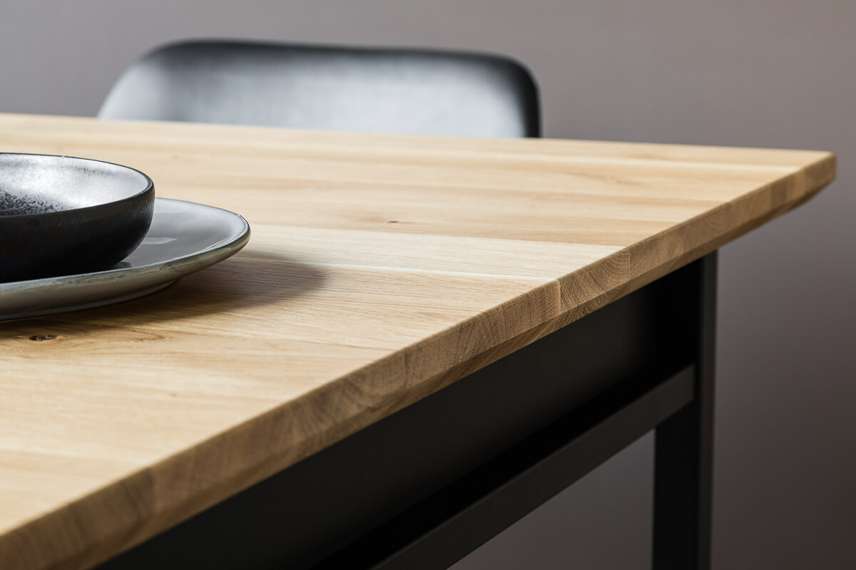 Industrial dining table Box by Loft Decora