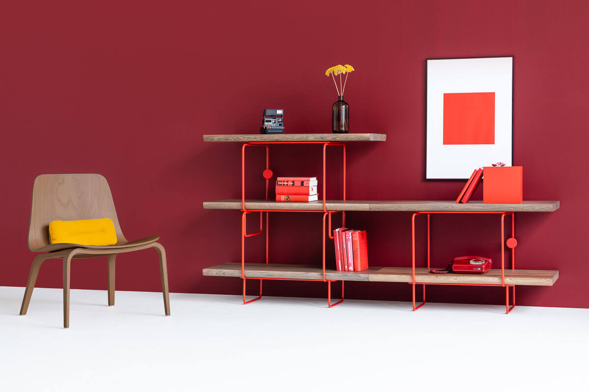 Modular bookshelf by Loft Decora
