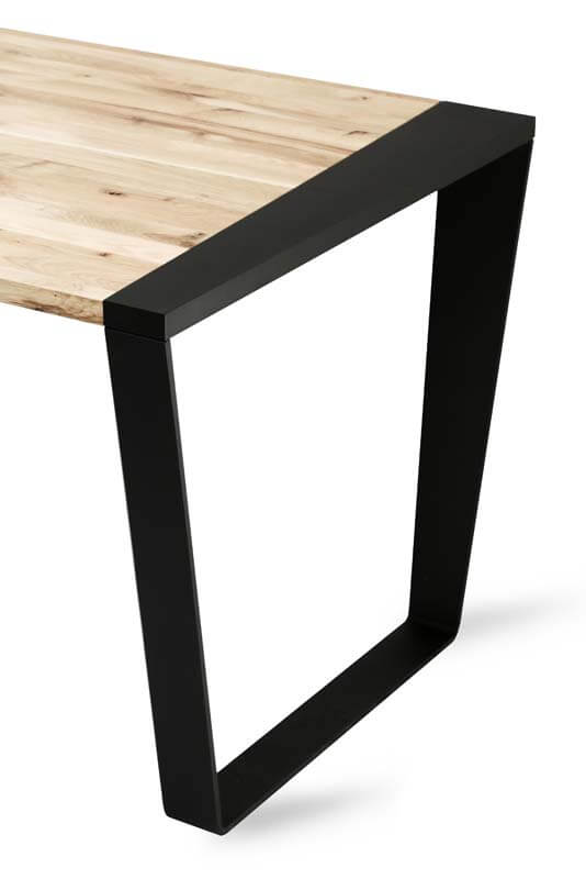 Wooden table in the industrial style SGW SCHEME