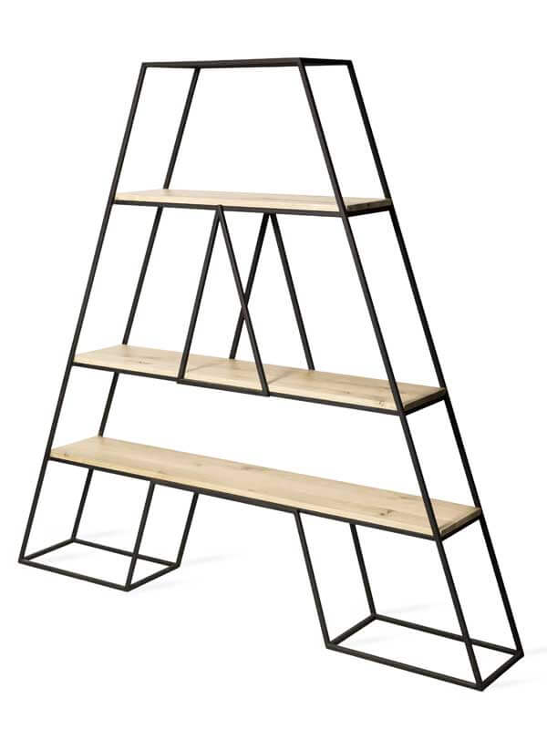A/ industrial bookcase from Loft Decora