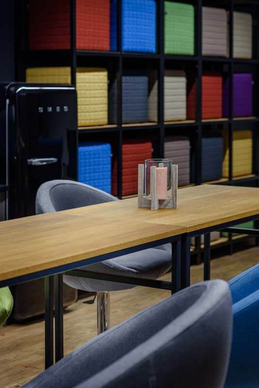 Industrial office furniture - realizations