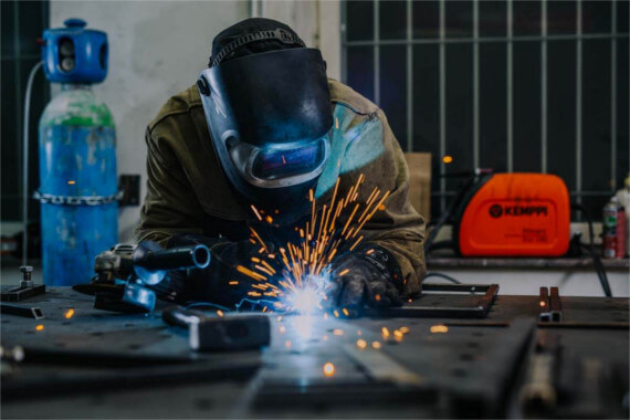 Furniture production - welding