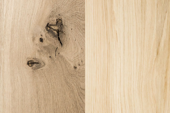 The choice of one of the types of solid wood for the production of furniture